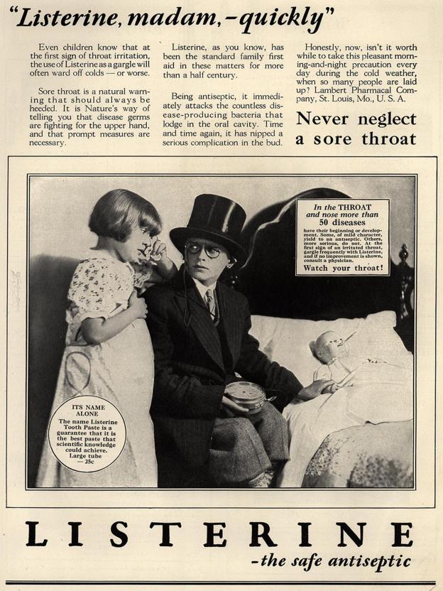 Listerine Ad 1928