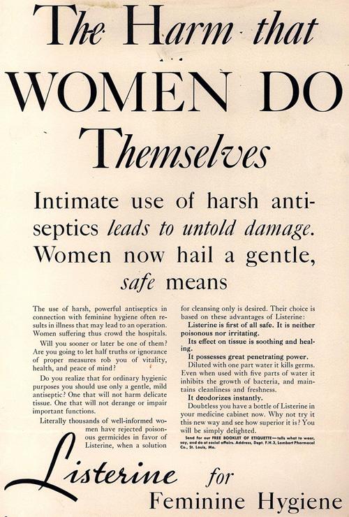 Listerine Ad 1932