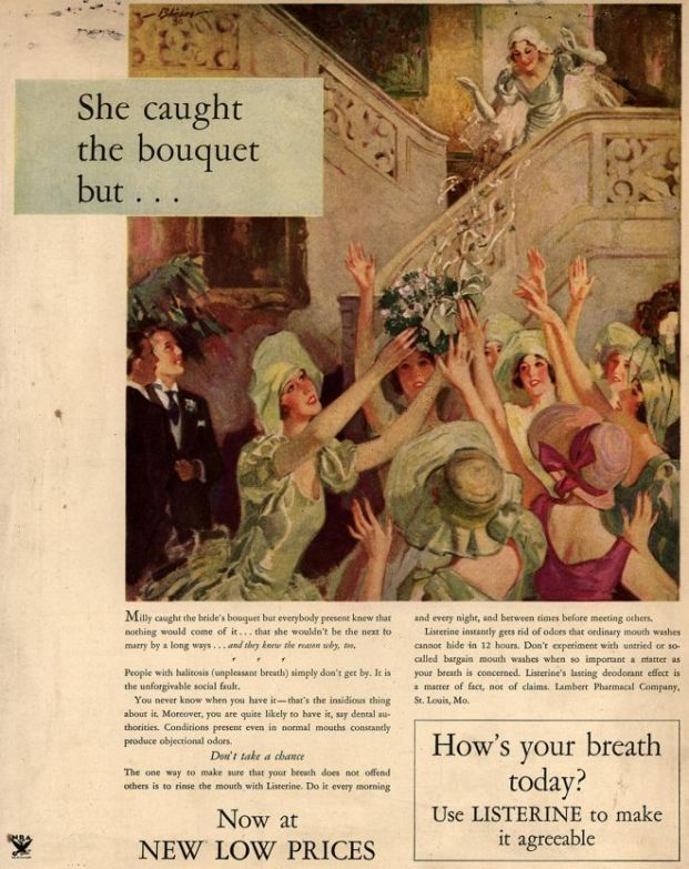 Listerine Ad [ca. 1932-1935]