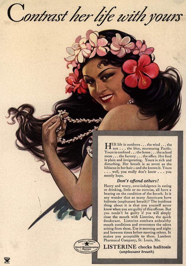 Listerine Ad 1934