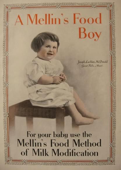 Mellin S Infant S Foods Doliber Goodale Co Boston Old