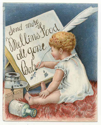 Mellins food ad, undated