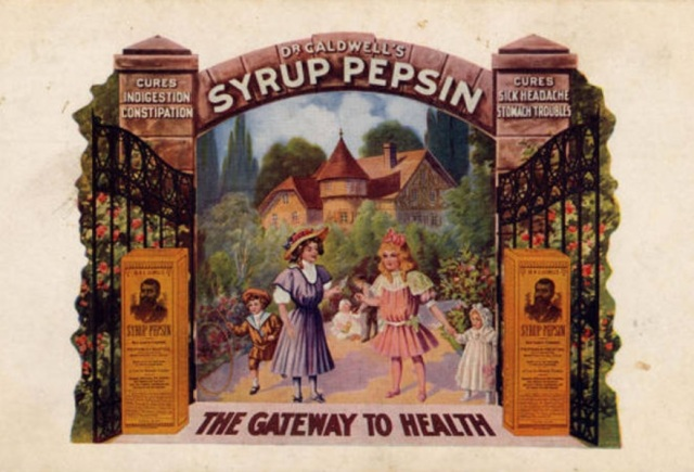 Ad for Dr. Caldwell's Syrup Pepsin, date unknown