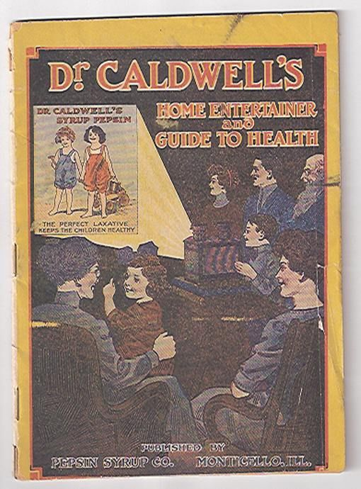 1910s Dr Caldwells Home Entertainer booklet, Monticello IL