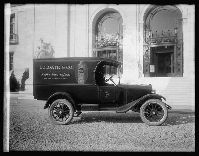 Colgate & Co. Dodge truck, dated 1922.