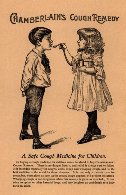 Chamberlain's Cough Remedy ad, undated