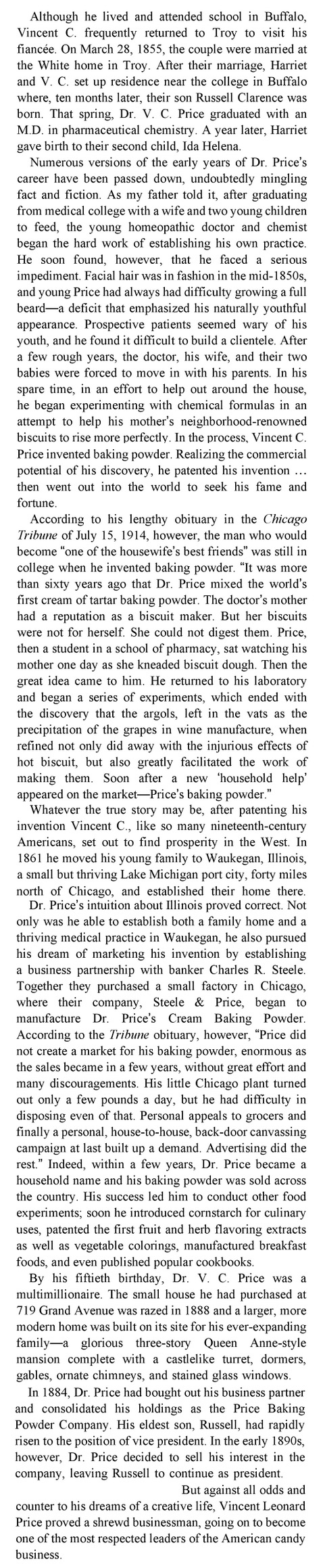 "Excerpt from ""Vincent Price: A Daughter's Biography"" by Victoria Price, 2011"