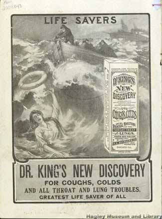 Dr. King's New Guide to Household Health, circa 1907. Inside front cover.