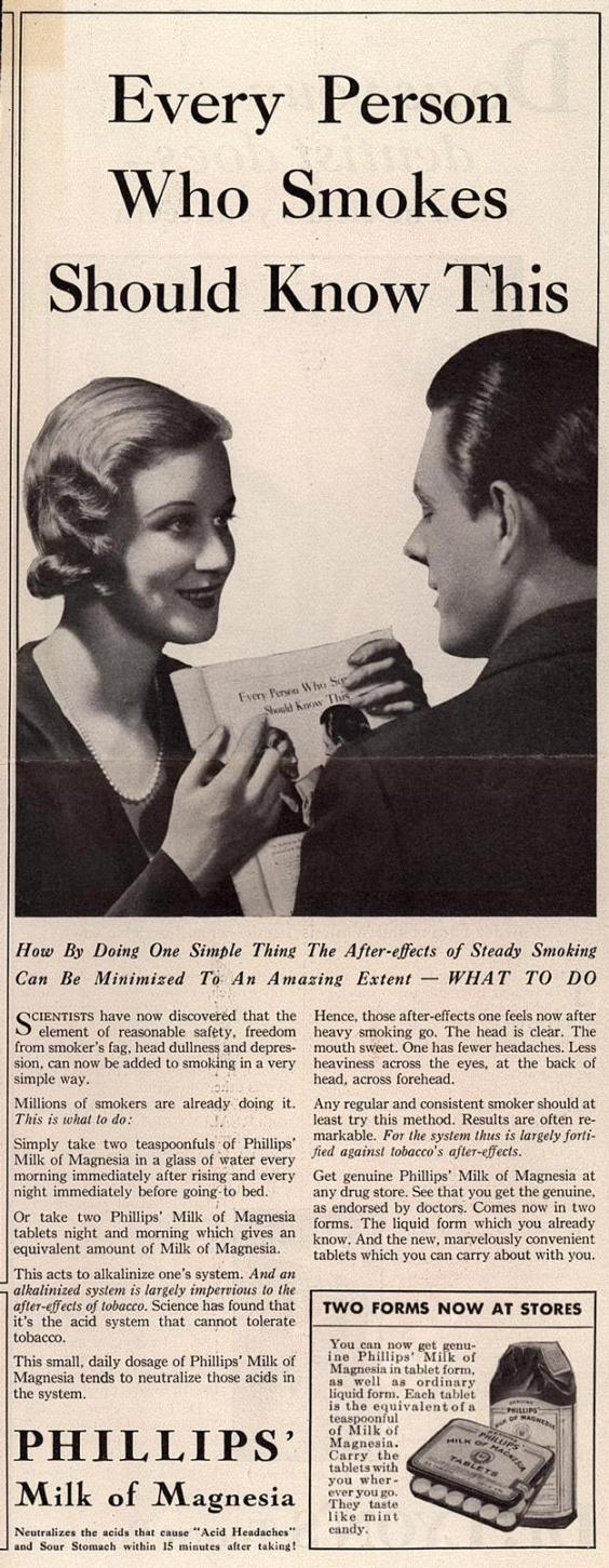 Ad from Ladies' Home Journal, 1932