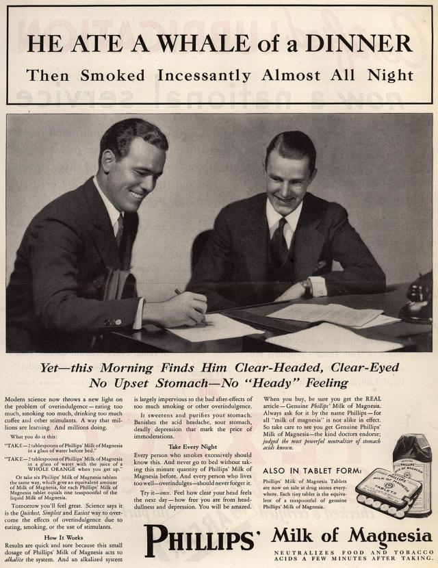 Ad from Saturday Evening Post, 1932