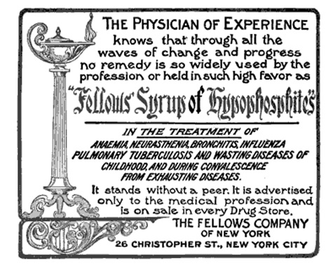 From The Medical Times, Volume 37 (Google eBook), 1909, pg 220