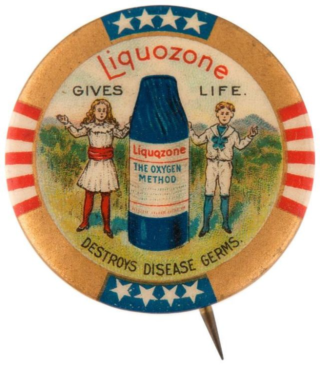 Liquozone pin