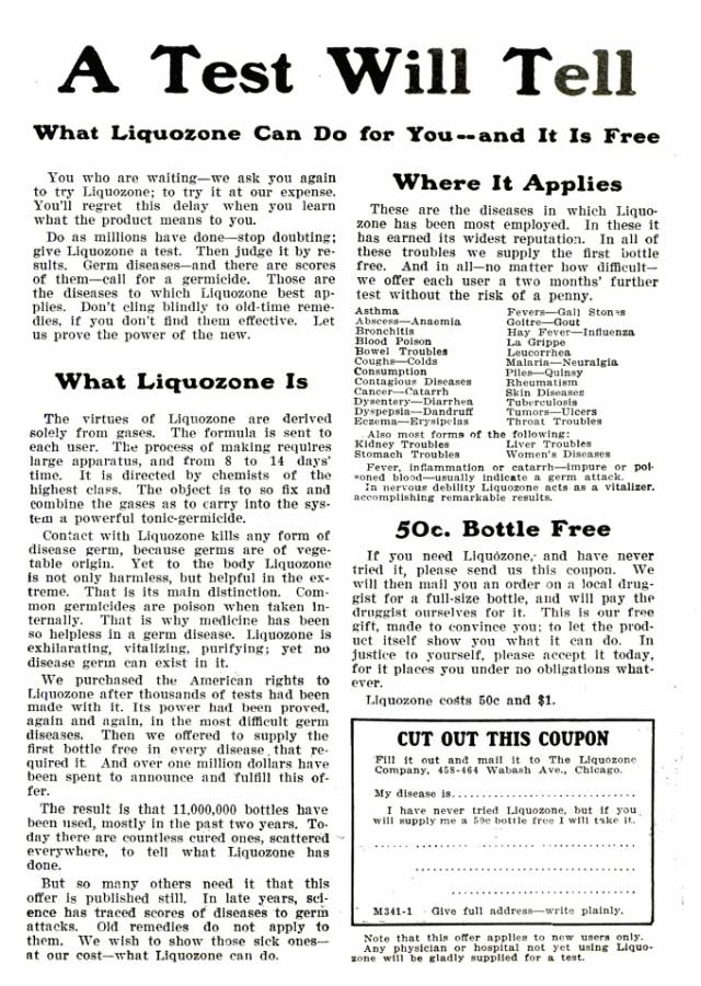 Ad from Popular Mechanics, Jan 1906, Vol. 8, No. 1