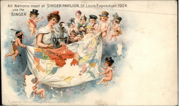 Trade Card from the 1904 St. Louis World's Fair