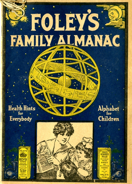 Foley's Family Almanac, 1922