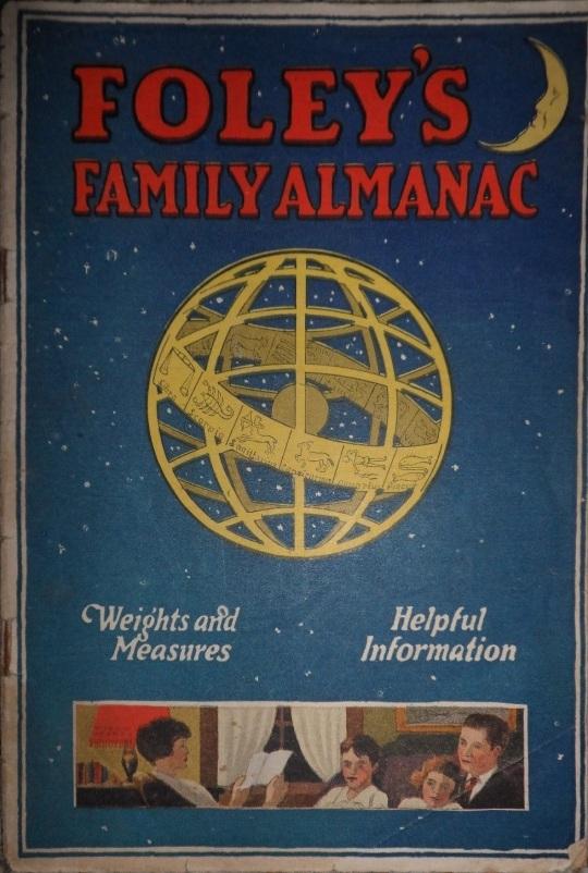 Foleys Family Almanac, 1925