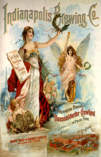 Indianapolis Brewing Co. Ad from 1904