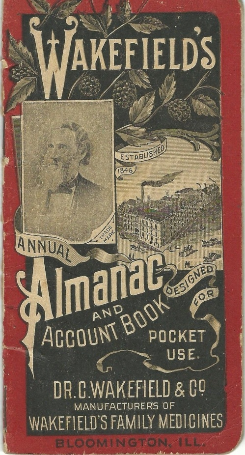 Wakefield's western farmers' almanac and account book, 1897-98