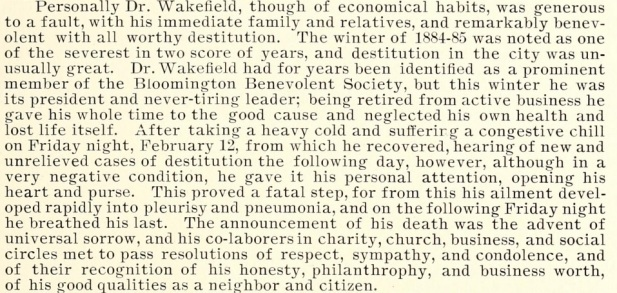From Wakefield Memorial, Comprising An Historical, Genealogical And Biographical Register Of The Name And Family Of Wakefield by Homer Wakefield, 1897