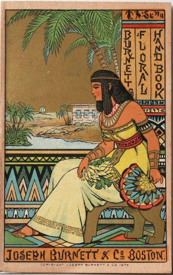 Joseph Burnett & Co floral handbook, 1879.