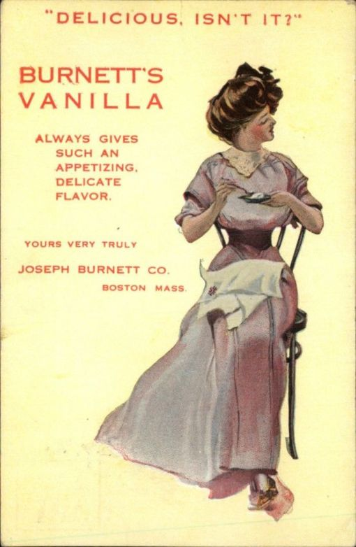 Joseph Burnett Co. ad, undated.