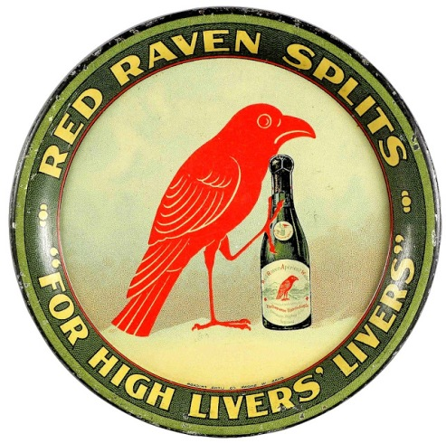 Red Raven Splits ad, date unknown.