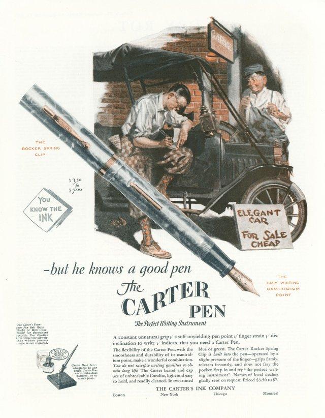 1927 Carter Ink Co