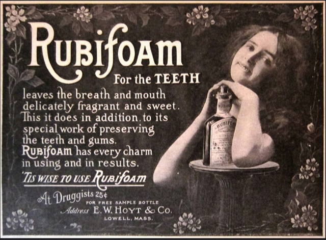 Rubifoam for the Teeth, 1900