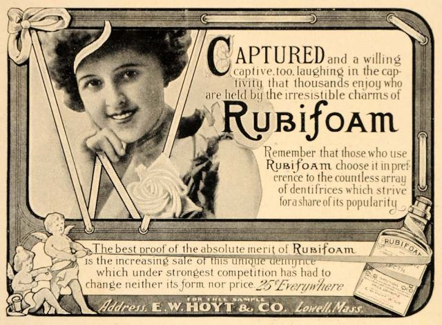 Rubifoam ad, date unknown