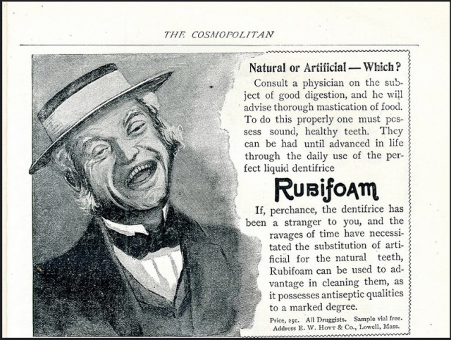 Rubifoam dentifice 1896