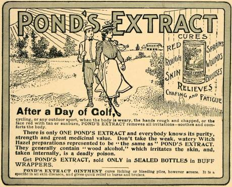 1902 Ad for Pond's Extract