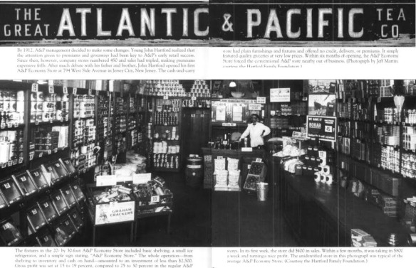1929 Great Atlantic /& Pacific Tea Co A/&P Grocery Store boy tricycle vintage ad